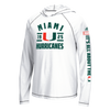 Miami Hurricanes adidas Ultimate Performance L/S Hoodie - White