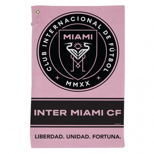 "Inter Miami CF Sports Towel - 16"" x 25"""