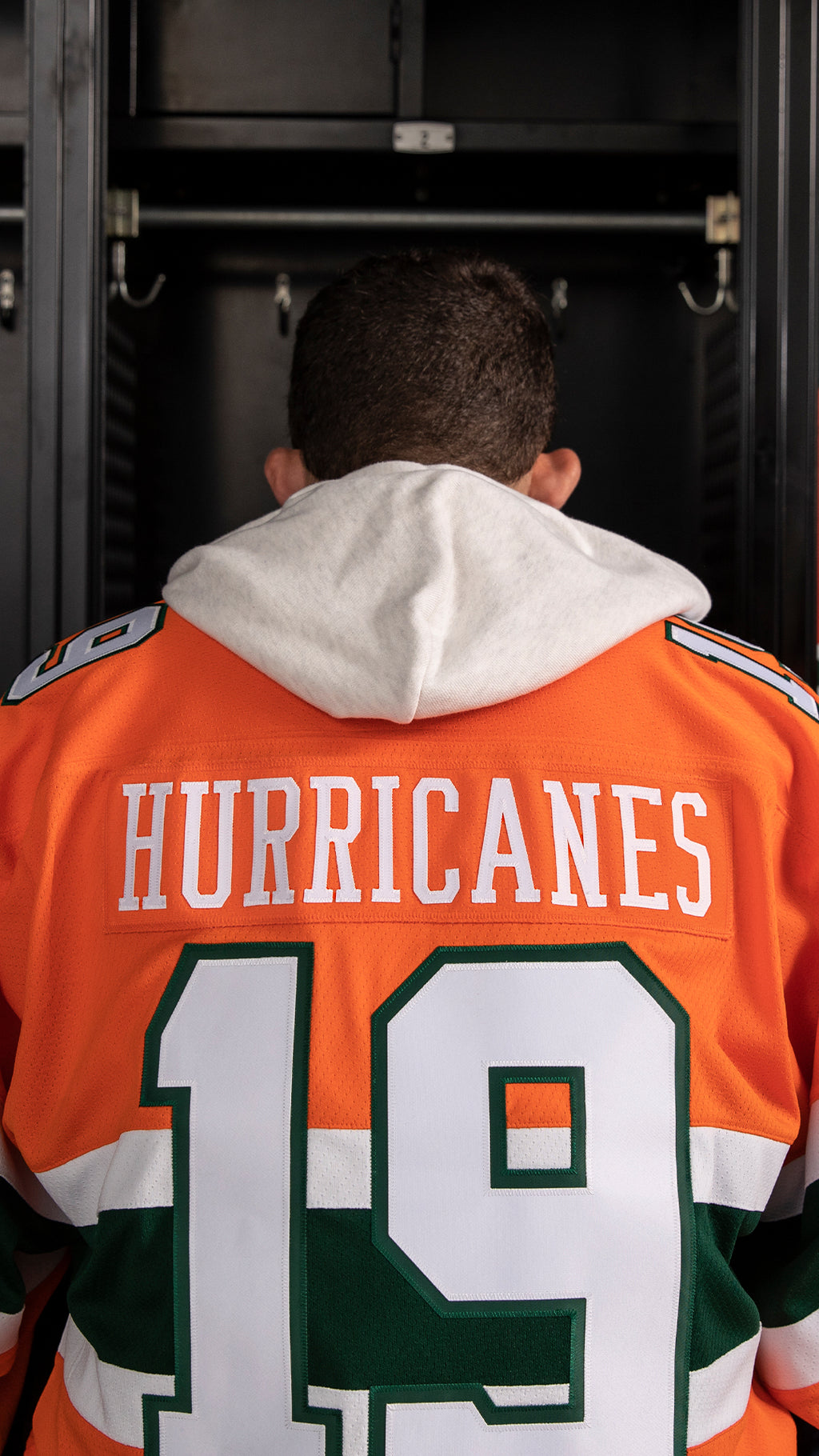 Miami Hurricanes adidas 2019 NCAA Hockey Jersey