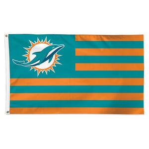 Miami Dolphins Deluxe Flag