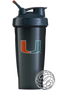 Miami Hurricanes 28 oz. Blender Bottle Classic - Black