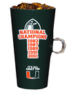 Miami Hurricanes 5 x Champions Bling Ring Cup