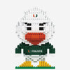 Miami Hurricanes 3D Brxlz Construction Toy - Sebastian