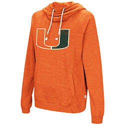 Miami Hurricanes WOMENS I'LL GO WITH YOU HOODIE