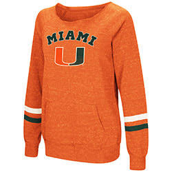 Miami Hurricanes WOMENS WATERS WARM PULLOVER