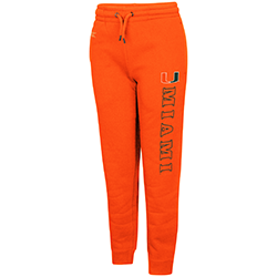 Miami Hurricanes Colosseum YOUTH WALK THE WALK JOGGER PANTS - Orange
