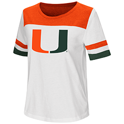 Miami Hurricanes WOMENS SHOW ME THE MONEY S/S TEE