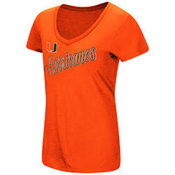 Miami Hurricanes WOMENS BIG SWEET DOLLARS S/S TEE