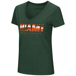 Miami Hurricanes WOMENS VALUABLE COMMODITY S/S TEE