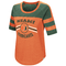 Miami Hurricanes WOMENS EXAAAACCTLY! S/S TEE - Orange/Green