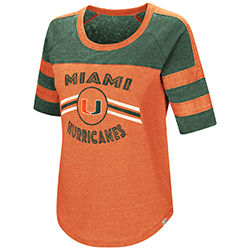 7ddfc51f655e4 Miami Hurricanes WOMENS EXAAAACCTLY! S S TEE – CanesWear at Miami ...