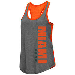 Miami Hurricanes WOMENS SHARE IT RACERBACK TANK