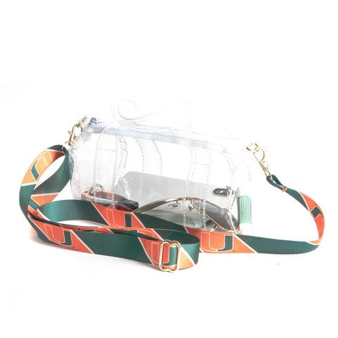 Miami Hurricanes Kay Kay Mini Duffel Purse