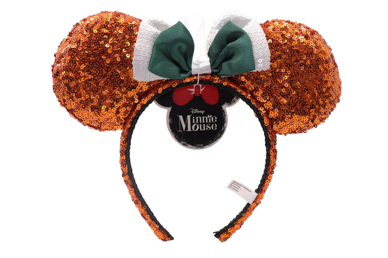 Disney Minnie Ears - Orange and Green