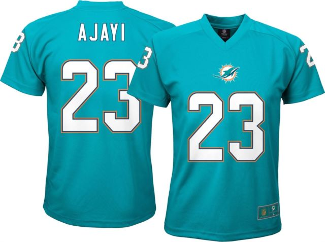 Miami Dolphins Youth Performance Ajayi Performance Jersey Tee