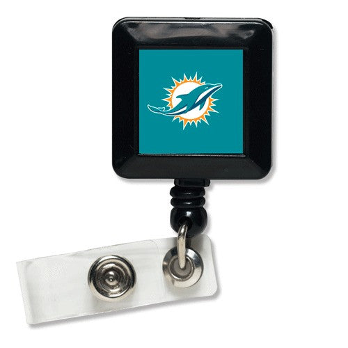 Miami Dolphins Badge Holder - CanesWear at Miami FanWear Accessories Wincraft CanesWear at Miami FanWear