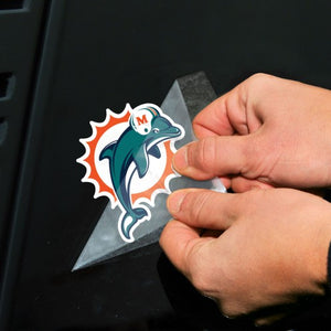 Miami Dolphins Perfect Cut Decal - 4""