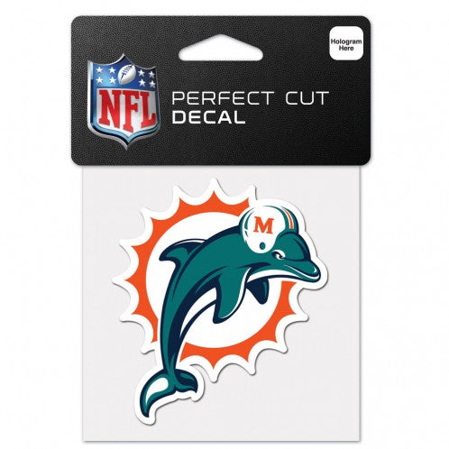 Miami Dolphins Perfect Cut Decal - 4