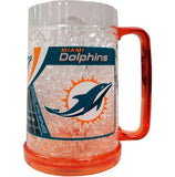Miami Dolphins Crystal Freezer Mug - CanesWear at Miami FanWear Drinkware Casey's Distributing CanesWear at Miami FanWear