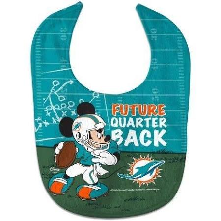 Miami Dolphins All Pro Disney Mickey Mouse Baby Bib