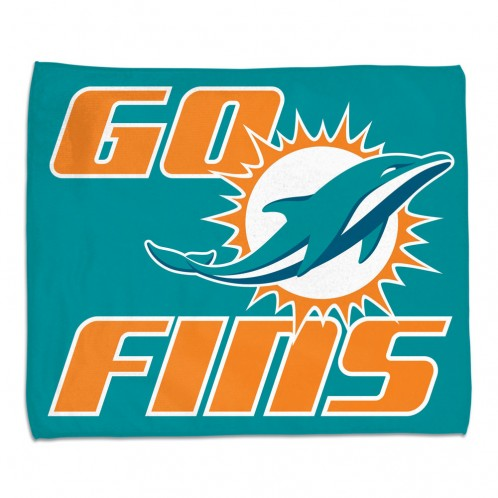 "Miami Dolphins Rally Towel - 15""x18"""