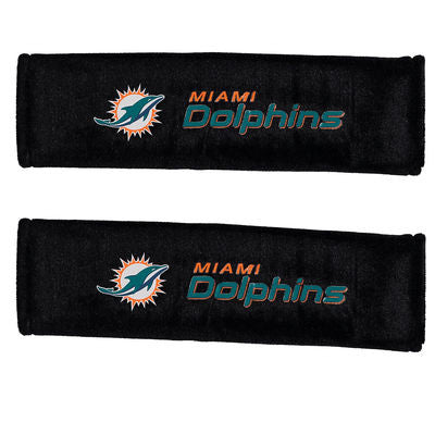 Miami Dolphins Seatbelt Pads - CanesWear at Miami FanWear Car Accessories Casey's Distribution CanesWear at Miami FanWear