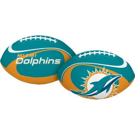 Miami Dolphins Softee Football - CanesWear at Miami FanWear Balls Prizes CanesWear at Miami FanWear