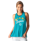 Miami Dolphins Women's In Touch Tank Top by Alyssa Milano