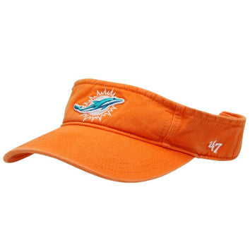 Miami Dolphins '47 Brand Clean-Up Visor - Orange