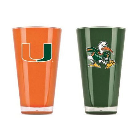 Miami Hurricanes 20-oz. INSULATED TUMBLER (2/PK)