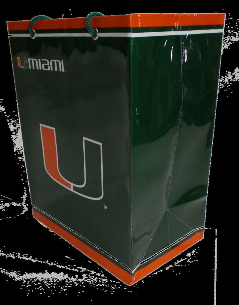Miami Hurricanes Gift Bag - Large