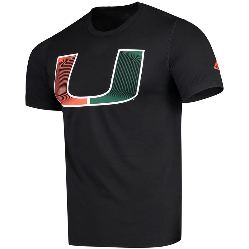 Miami Hurricanes adidas 2019 Creator SS Game Day T-Shirt - Black