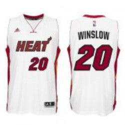 Miami Heat Adidas Swingman Winslow Jersey - #20 - CanesWear at Miami FanWear Basketball Jerseys Adidas CanesWear at Miami FanWear