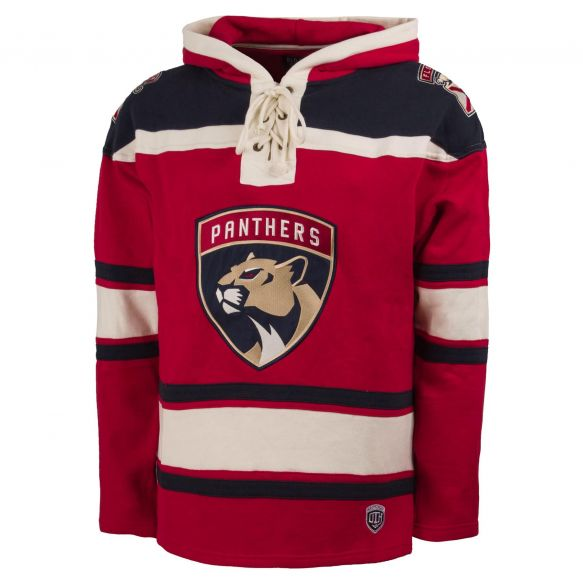 Florida Panthers '47 Brand Red Superior Lacer Hoodie