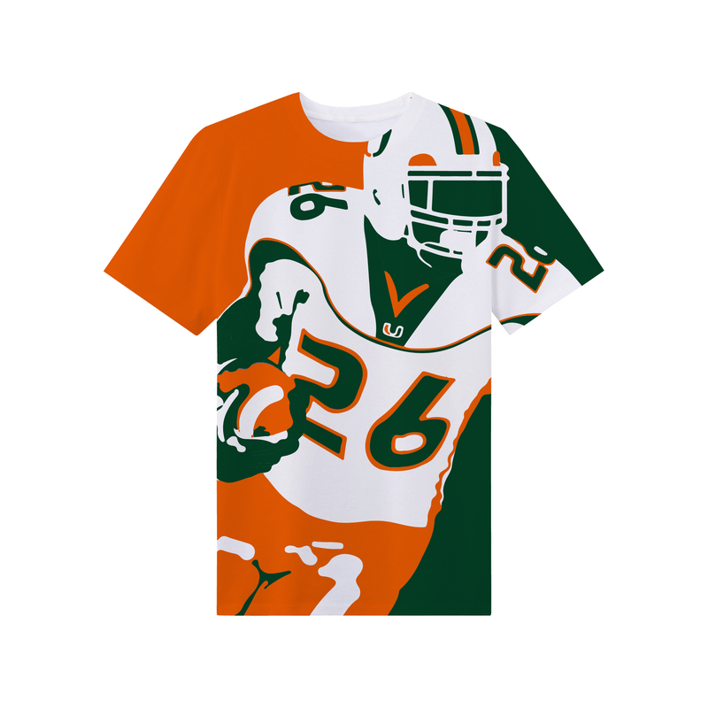 Miami Hurricanes Dyme Lyfe S.T. House Call T-Shirt