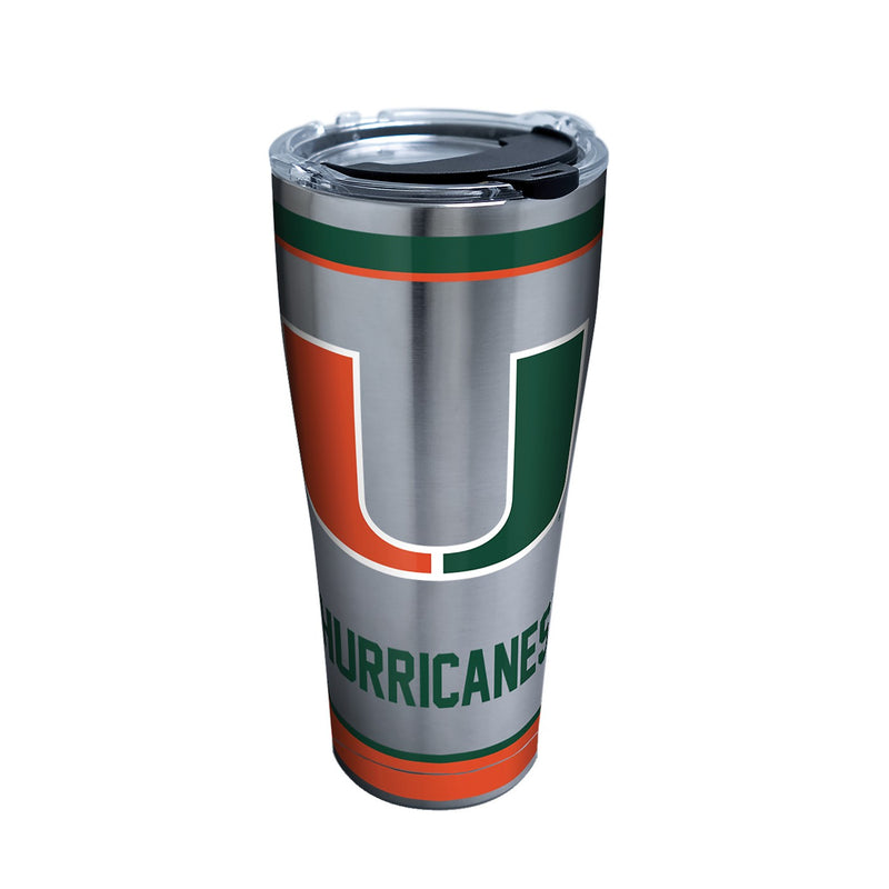 Miami Hurricanes Tervis 20oz. Stainless Steel Tradition Tumbler