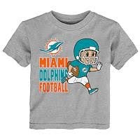 Miami Dolphins Toddler Football T-Shirt