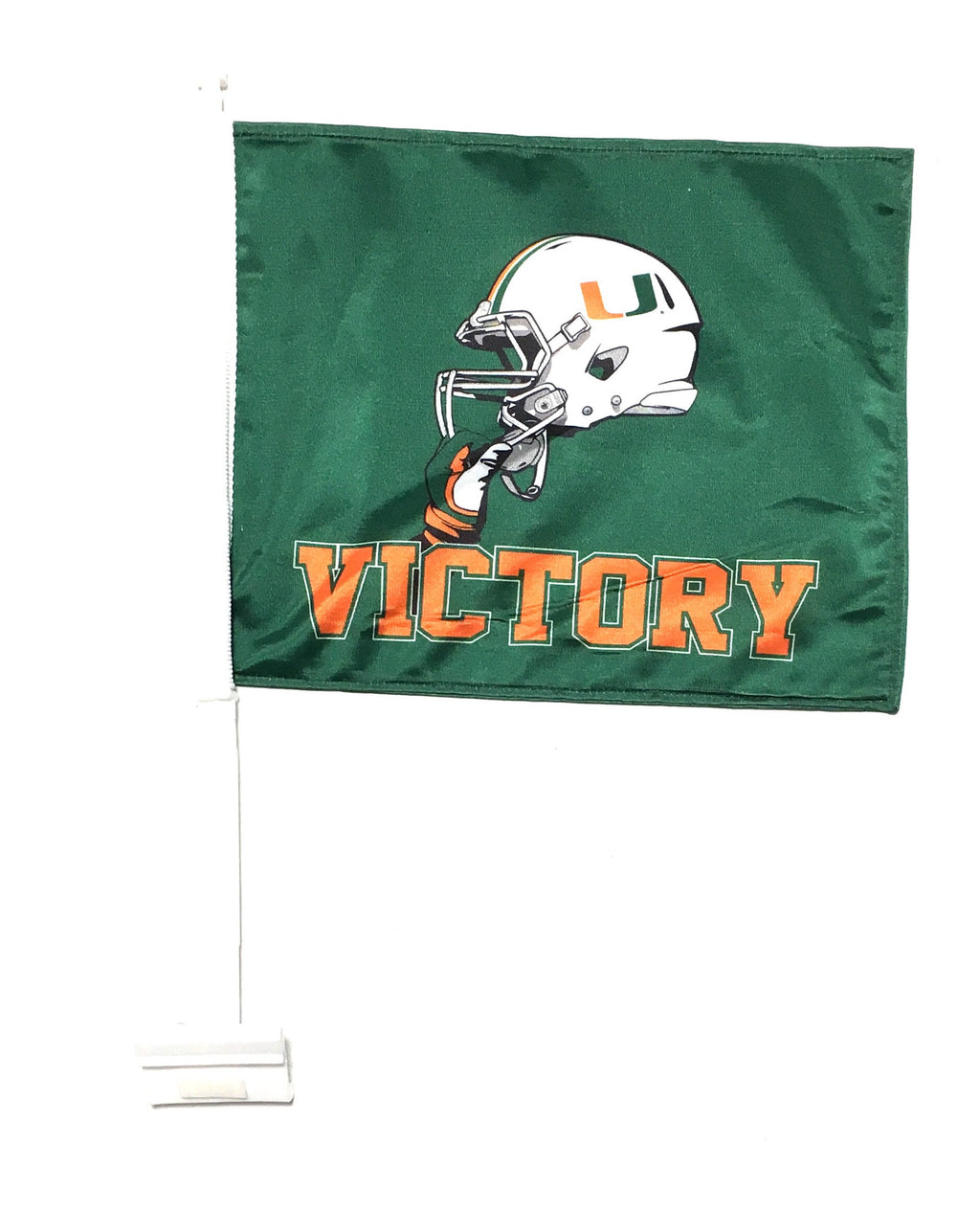 Miami Hurricanes Victory Car Flag
