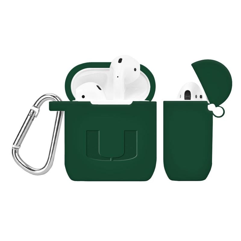 Miami Hurricanes Debossed AirPod Case Cover