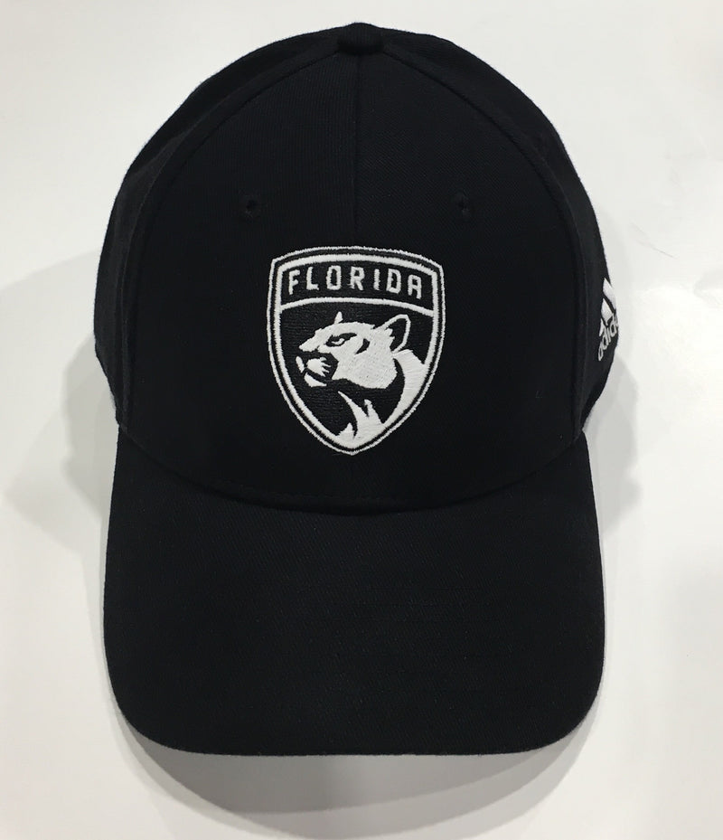 Florida Panthers Stretch Flex Fit Cap - Black