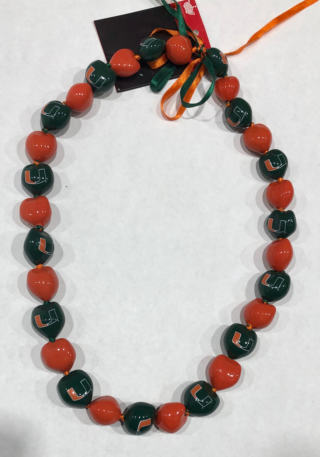 Miami Hurricanes Kukui Necklace