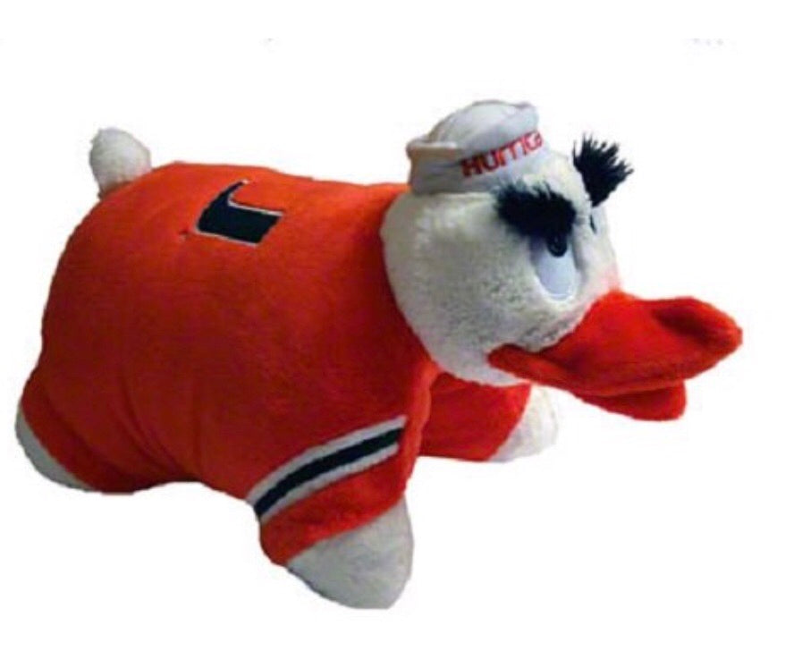 Miami Hurricanes Sebastian Pillowpet