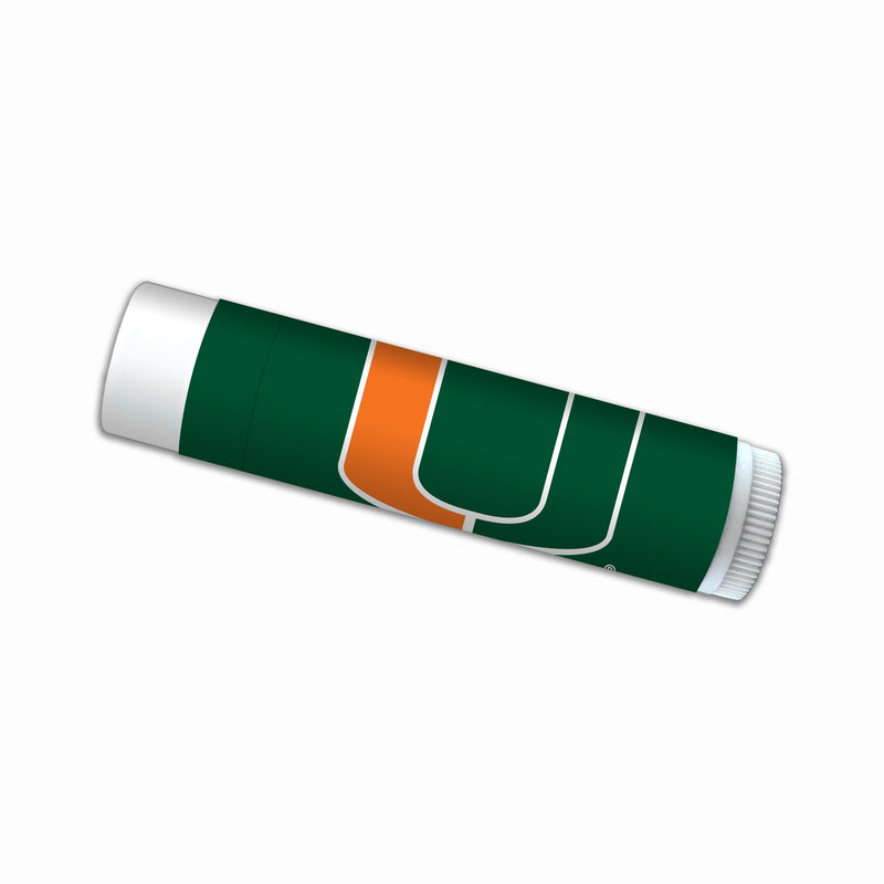Miami Hurricanes Premium Smooth Mint Lip Balm w/ SPF 15