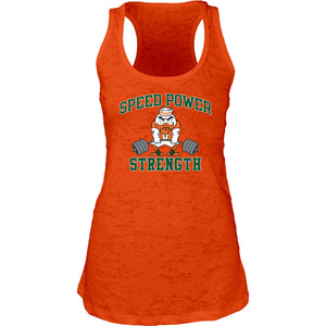 Miami Hurricanes Speed Power Strength Women's Tank