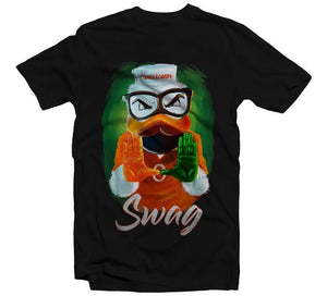 Miami Hurricanes Swag T-Shirt by Duh Nation