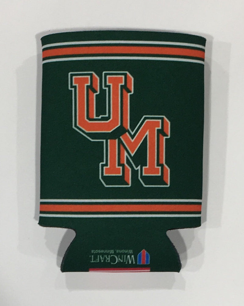 Miami Hurricanes 2 Sided Vintage Can Koozie