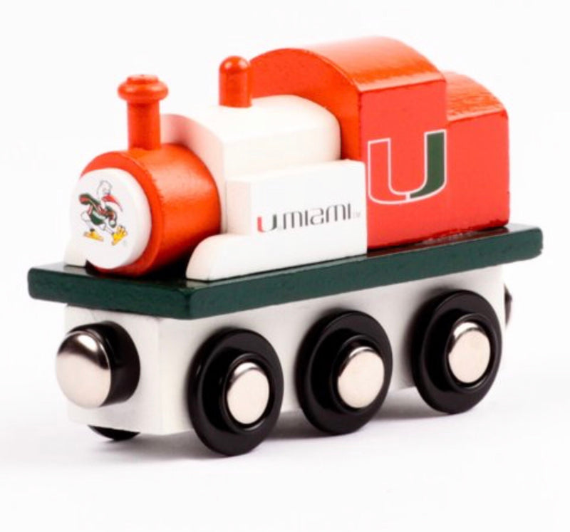 Miami Hurricanes Toy Train Engine