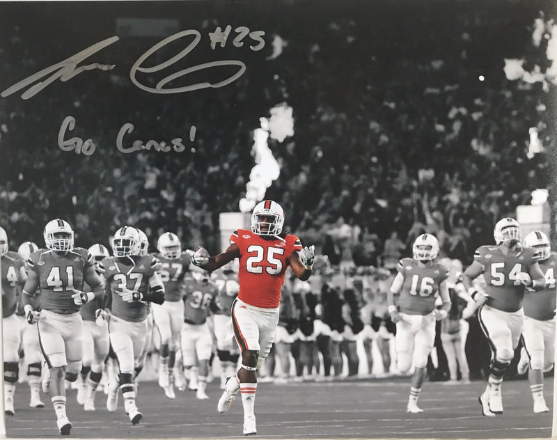 Autographed Adrian Colbert Photo 8 x 10