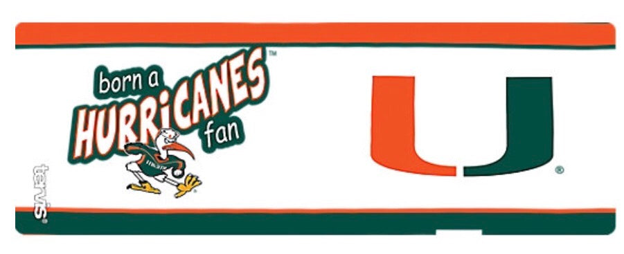 Miami Hurricanes Tervis Sippy Cup - Born a Fan