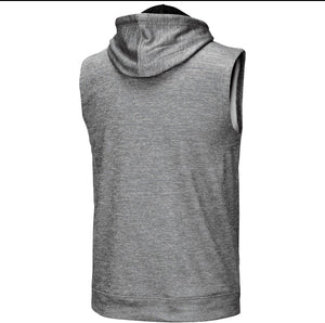 Miami Hurricanes Colosseum Sebastian Sleeveless Hoodie - Heather Grey